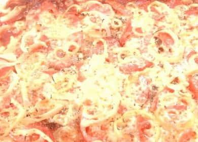 Как научиться готовить вкусную пиццу из слоеного теста в духовке
