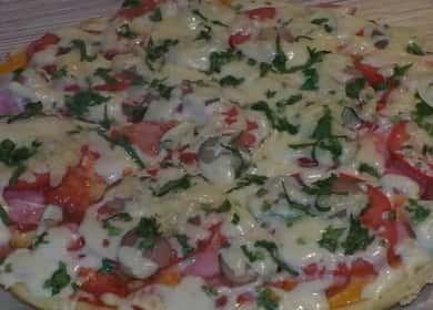 Как научиться готовить вкусную пиццу на сковороде