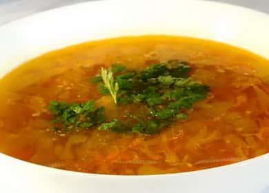 Постный гороховый суп — очень вкусный рецепт