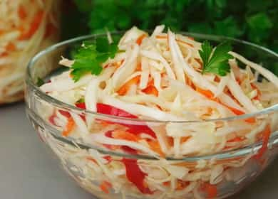 Вкусная маринованная капуста — рецепт быстрого приготовления