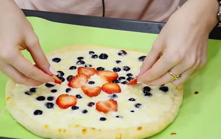 Как научиться готовить сладкую пиццу