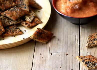 Соленое печенье — рецепт крекеров со специями