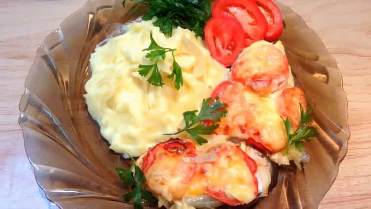 Стейки горбуши в духовке по пошаговому рецепту с фото