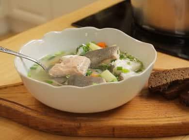 Камчатская уха из горбуши и палтуса — очень вкусный рецепт