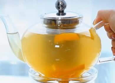 Имбирный чай с лимоном и медом по пошаговому рецепту с фото