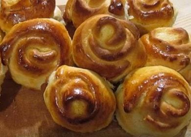 Как научиться готовить вкусные булочки с творогом в духовке