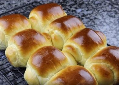 Готовим ароматные домашние булочки хоккайдо: рецепт с фото и видео.