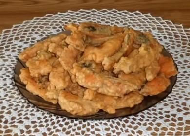 Вкусная горбуша в кляре: готовим по пошаговому рецепту с фото.