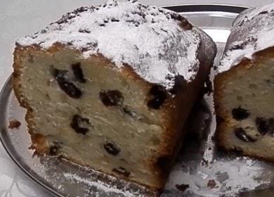 Вкусный кекс на майонезе — очень долго остается свежим