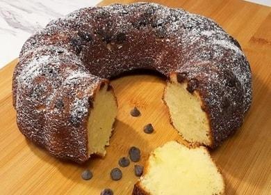 Нежнейший кекс с шоколадом на сгущенном молоке
