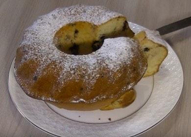 Воздушный кекс на сметане — выпекаем в духовке