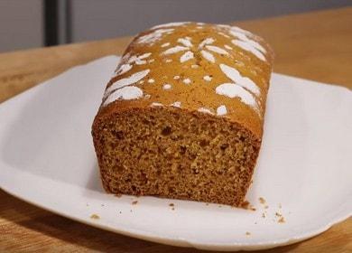 Вкуснейший медовый кекс — очень простой рецепт