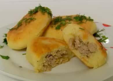 Пирожки из картофельного пюре: пошаговый рецепт с фото