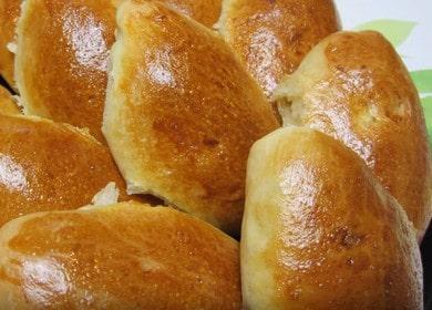 Готовим вкуснейшие пирожки с творогом в духовке по пошаговому рецепту с фото.