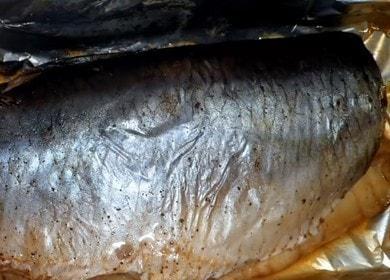 Сельдь, запеченная в фольге в духовке — простое и вкусное блюдо