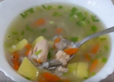 Суп из горбуши — рецепт очень вкусного рыбного супа