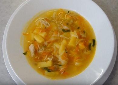 Легкий куриный суп с макаронами и картошкой 🍲