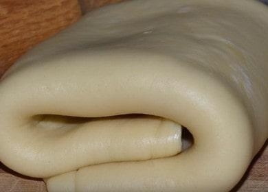 Слоеное тесто для круассанов — самый быстрый рецепт