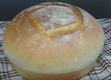 Рецепт приготовления вкусного белого домашнего хлеба в духовке
