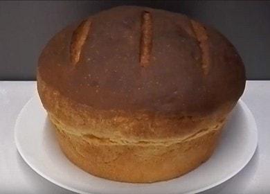Вкусный домашний хлеб на кефире — выпекаем в духовке