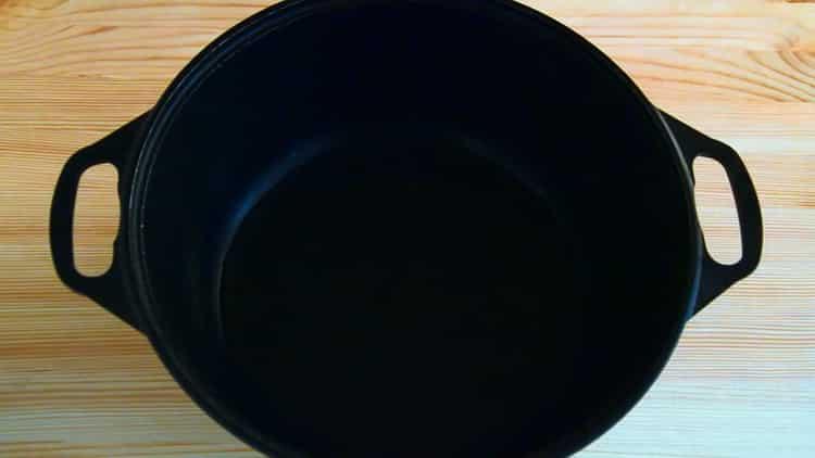 Для приготовления барабульки разогрейте сковородку