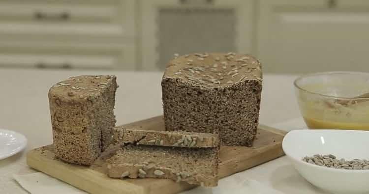 бездрожжевой хлеб в хлебопечке готов