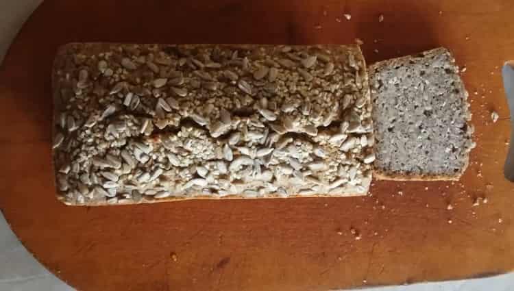 бездрожжевой хлеб готов