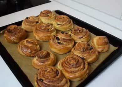 Как научиться готовить вкусные булочки с корицей из слоеного теста
