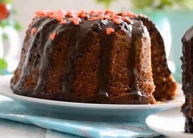 Быстрый шоколадный кекс в духовке — всего за 5 минут