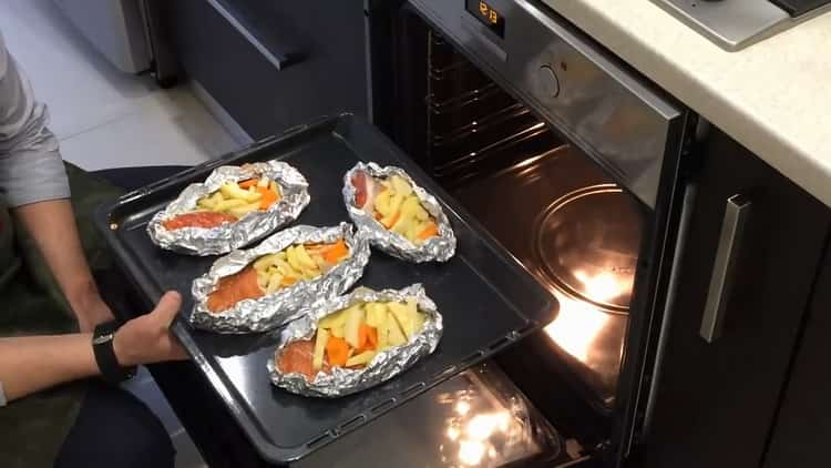 Разогрейте духовку для приготовления