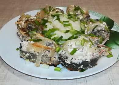 Горбуша в сметанном соусе — нежная и вкусная