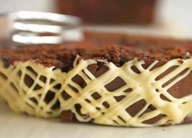 Очень вкусный шоколадный кекс с вишней — простой и быстрый рецепт