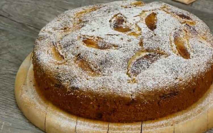 Пышный, ароматный и невероятно вкусный кекс с яблоками - невероятно вкусно