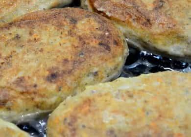 Котлеты из скумбрии по пошаговому рецепту с фото
