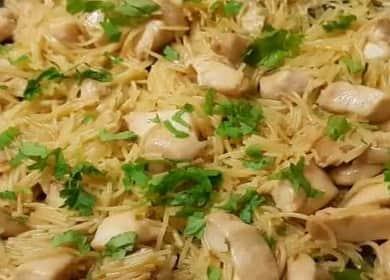 Макароны с куриным филе — быстрый, вкусный и бюджетный ужин 🍝