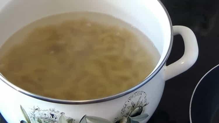 Готовим макароны с мясом в духовке