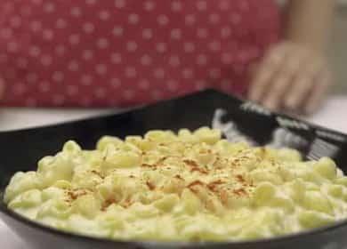 Рецепт американского блюда — макароны с сыром на сковороде 🍝