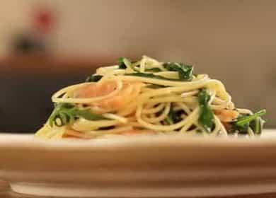 Вкусная паста с копченым лососем и рукколой — вкусно и полезно