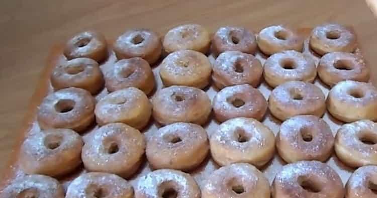 Пончики на кефире: пошаговый рецепт с фото