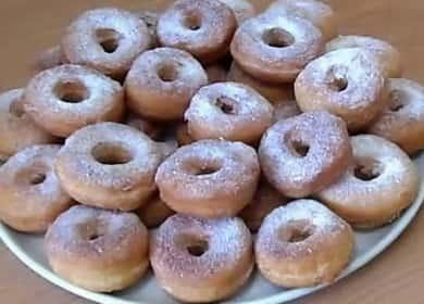 Как научиться готовить вкусные пончики на кефире 🍩
