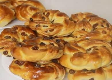 Как научиться готовить вкусные сдобные булочки из дрожжевого теста
