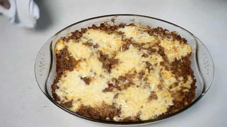 Спагетти с фаршем по пошаговому рецепту с фото