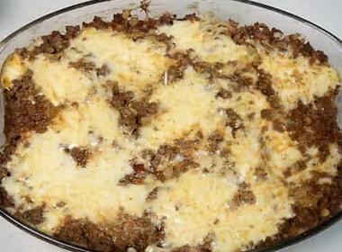 Спагетти, запеченные с фаршем и сыром — вкусно и просто 🍝