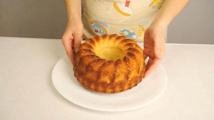 Творожный кекс в духовке по пошаговому рецепту с фото