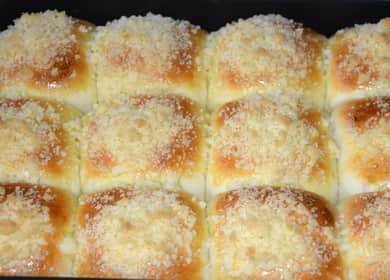 Тесто для булочек в духовке: пошаговый рецепт с фото