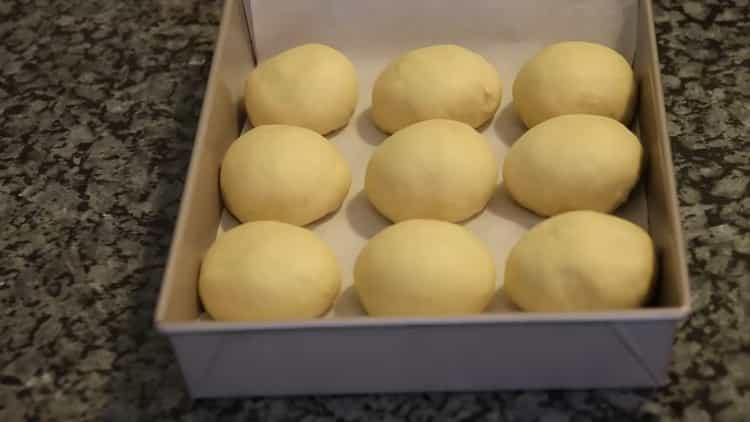 Тесто на булочки, как пух: пошаговый рецепт с фото