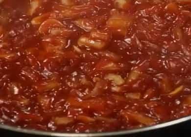 Ароматный томатный соус для спагетти, макарон, пасты