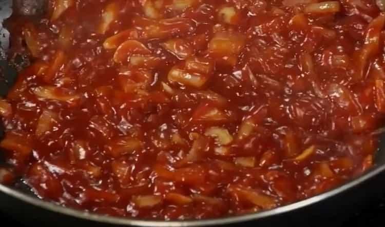 Томатный соус для спагетти по пошаговому рецепту с фото