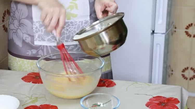 Для приготовления улиток из слоеного теста подготовьте ингредиенты