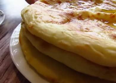 Вкусный хачапури с сыром сулугуни — выпекаем на сковороде